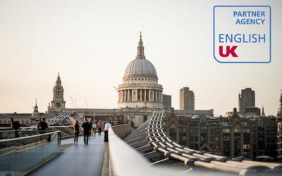 留学@UKはEnglish UK Partner Agencyに認定された数少ない留学エージェントです