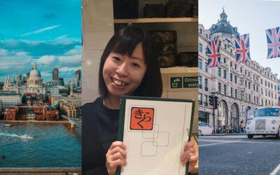 イギリス留学生インタビュー:YMSで渡英したサユリさん
