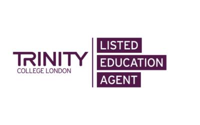 留学@UKはTrinity College London Listed Education Agentに認定された数少ない留学エージェントです
